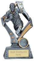 Flag Rugby Trophy Award 6.75 Inch (17cm) : New 2020