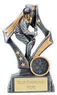 Flag Cricket Trophy Award Batsman 5 1/8 Inch (13cm) : New 2020