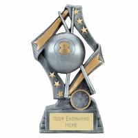 Flag Pool Trophy Award 6.75 Inch (17cm) : New 2020