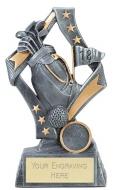 Flag Golf Trophy Award 6.75 Inch (17cm) : New 2020