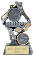 Flag Swimming Trophy Award 7.5 Inch (19cm) : New 2020