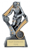 Flag Basketball Trophy Award 7.5 Inch (19cm) : New 2020