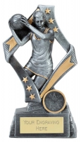 Flag Netball Trophy Award 7.5 Inch (19cm) : New 2020