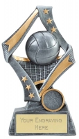 Flag Volleyball Trophy Award 7.5 Inch (19cm) : New 2020