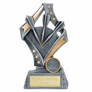 Flag Darts Trophy Award 7.5 Inch (19cm) : New 2020