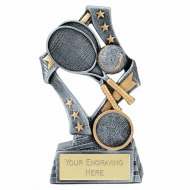 Flag Tennis Trophy Award 5 1/8 Inch (13cm) : New 2020