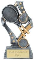 Flag Tennis Trophy Award 7.5 Inch (19cm) : New 2020