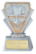 Well Done Trophy Award Mini Presentation Cup Trophy Award 3.3/8 Inch (8.5cm) : New 2020