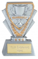 Runner Up Trophy Award Mini Presentation Cup Trophy Award 3.3/8 Inch (8.5cm) : New 2020