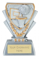 Basketball Trophy Award Mini Presentation Cup Trophy Award 3 3/8 Inch (8.5cm) : New 2020