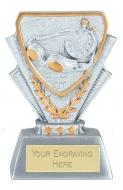 Swimming Trophy Award Mini Presentation Cup Trophy Award 3 3/8 Inch (8.5cm) : New 2020