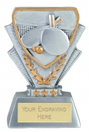 Table Tennis Trophy Award Mini Presentation Cup Trophy Award 3 3/8 Inch (8.5cm) : New 2020