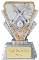 Clayshooting Trophy Award Mini Presentation Cup Trophy Award 3 3/8 Inch (8.5cm) : New 2020
