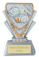 Badminton Trophy Award Mini Presentation Cup Trophy Award 3 3/8 Inch (8.5cm) : New 2020