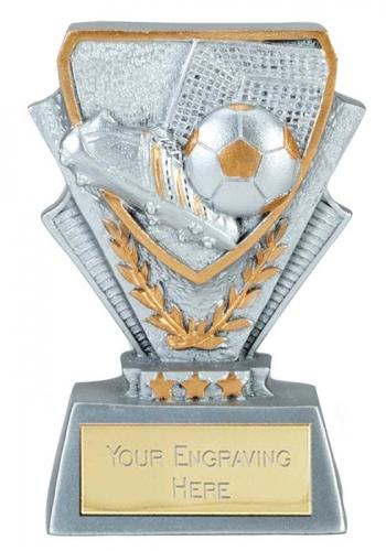 Football Trophy Award Mini Presentation Cup 3 3/8 Inch (8.5cm) : New 2020