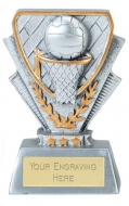 Netball Trophy Award Mini Presentation Cup Trophy Award 3 3/8 inch (8.5cm) : New 2020