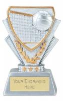 Volleyball Trophy Award Mini Presentation Cup Trophy Award 3 3/8 inch (8.5cm) : New 2020