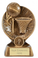 Horizon Netball Trophy Award 5 7/8 inch (15cm) : New 2020