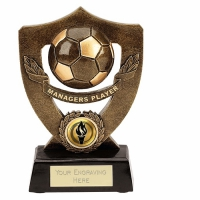 Celebration Shield7 Managers Player Football Trophy AGGT 7 Inch