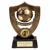 Celebration Shield7 Parents Player Football Trophy AGGT 7 Inch