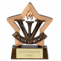 Mini Star Achievement Award Trophy AGGT 3.25 Inch