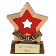 Mini Star Red House AGGT 3.25 Inch