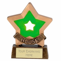 Mini Star Green House Award Trophy AGGT 3.25 Inch