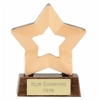 Mini Star Award Trophy AGGT 3.25 Inch