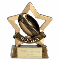 Mini Star Rugby AGGT 3.25 Inch