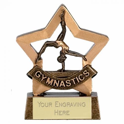 Mini Star Female Gymnastics AGGT 3.25 Inch