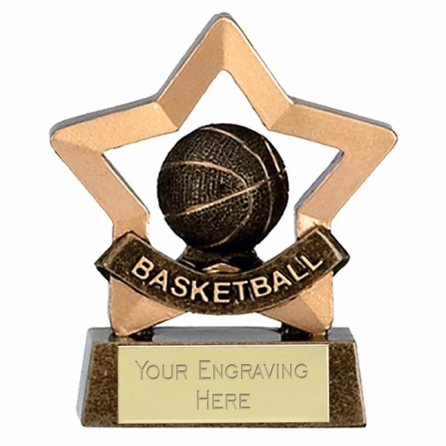 Mini Star Basketball AGGT 3.25 Inch