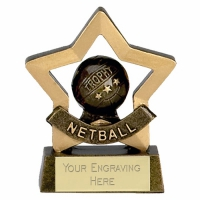 Mini Star Netball AGGT 3.25 Inch