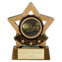 Mini Star Victory Football Trophy AGGT 3.25 Inch
