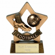 Mini Star Football Trophy AGGT 3.25 Inch