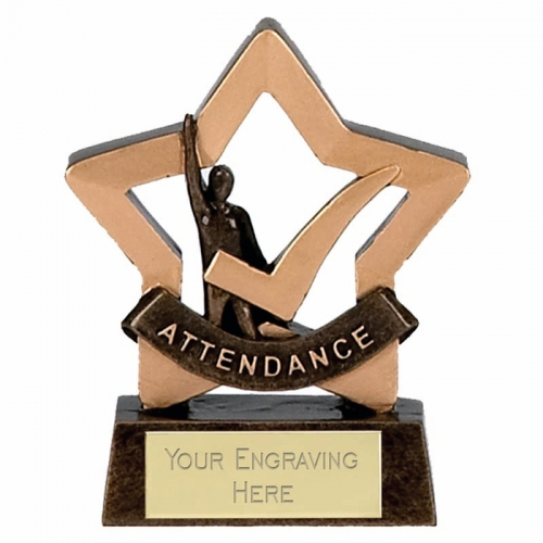Mini Star Attendance AGGT 3.25 Inch