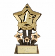 Mini Star Holder4 Award AGGT 4.25 Inch