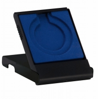 Economy Plastic Solid lid Medal Black 50mm/70mm