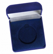 Medal Case50 Blue Velvet Blue 50mm