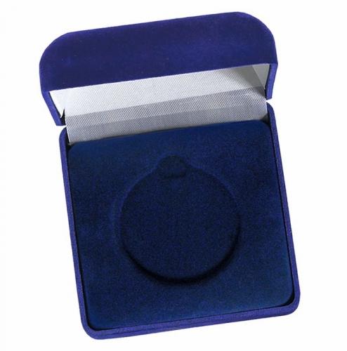Medal Case50 Blue Velvet Blue 50mm