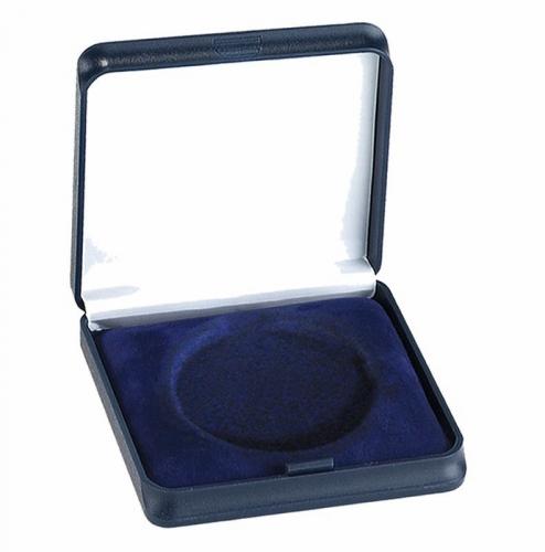 Medal Case50 Solid Top Blue 50mm