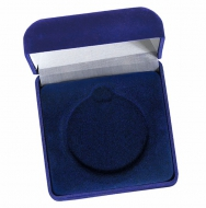 Medal Case60 Blue Velvet Blue 60mm