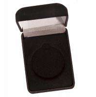 Medal Award Case50 Black Velvet 50mm Recess : New 2020
