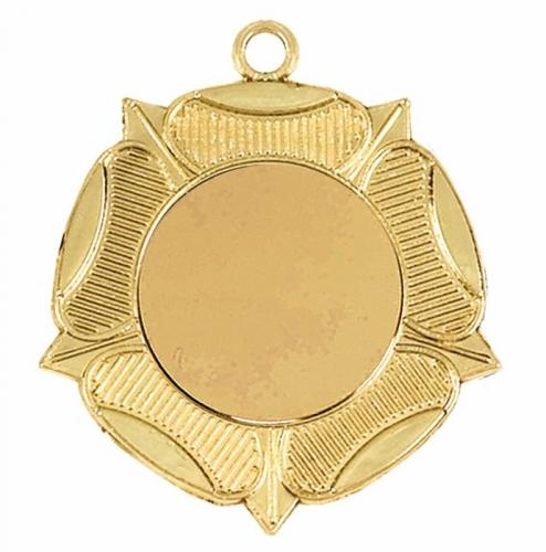 Rose50 Medal Gold 50mm