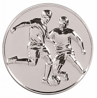 Supreme Football60 Medal Silver 60mm