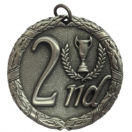 Laurel50 2nd Medal Silver 50mm