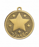 GALAXY Stars Medal Bronze 45mm