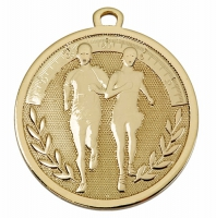 GALAXY Running Medal Gold 45mm
