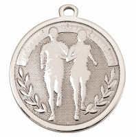 GALAXY Running Medal Silver 45mm