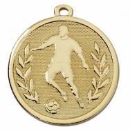 GALAXY Footballer Medal Gold 45mm