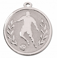 GALAXY Footballer Medal Silver 45mm Award
